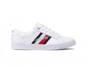 Tommy hilfiger – TH SIGNATURE CUPSOLE SNEAKER – WHITE