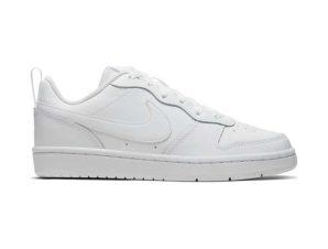 Nike Court Borough Low 2 BQ5448-100 Δερμάτινο Sneaker Λευκό