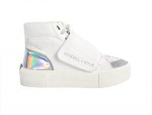 Kendall and Kylie – K&K SHOES TIGGS VELCRO-78344 * LT ICE/SIL – LT ICE/SIL