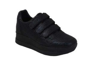 Tsimpolis Shoes 107 Sneaker Από Τεχνόδερμα Μαύρο