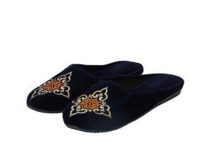Tsimpolis Shoes N84 Γυναικεία Παντόφλα Σπιτιού Μπλέ