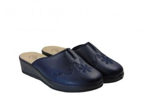 Tsimpolis Shoes 1622 Ανατομική Παντόφλα Σπιτιού Μπλέ