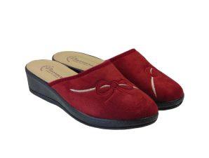 Tsimpolis Shoes 3014 Ανατομική Παντόφλα Σπιτιού Μπορντό