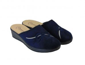 Tsimpolis Shoes 3014 Ανατομική Παντόφλα Σπιτιού Μπλέ