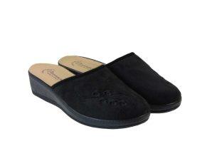 Tsimpolis Shoes 3010 Ανατομική Παντόφλα Σπιτιού Μαύρη