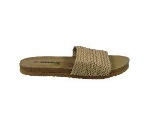 Tsimpolis Shoes SD4185 Γυναικεία Παντόφλα Μπέζ