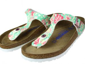 Birkenstock Gizeh 1016138 Supernatural Flower Emerald