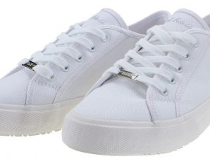 U.S. POLO ASSN. MAREW035 CANVAS-WHI