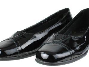 BOXER Shoes 52794 Μαύρο Λουστρίνι