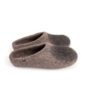 """Womens house mules """"SOLO"""" black"""