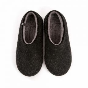 House slippers DUAL BLACK grey
